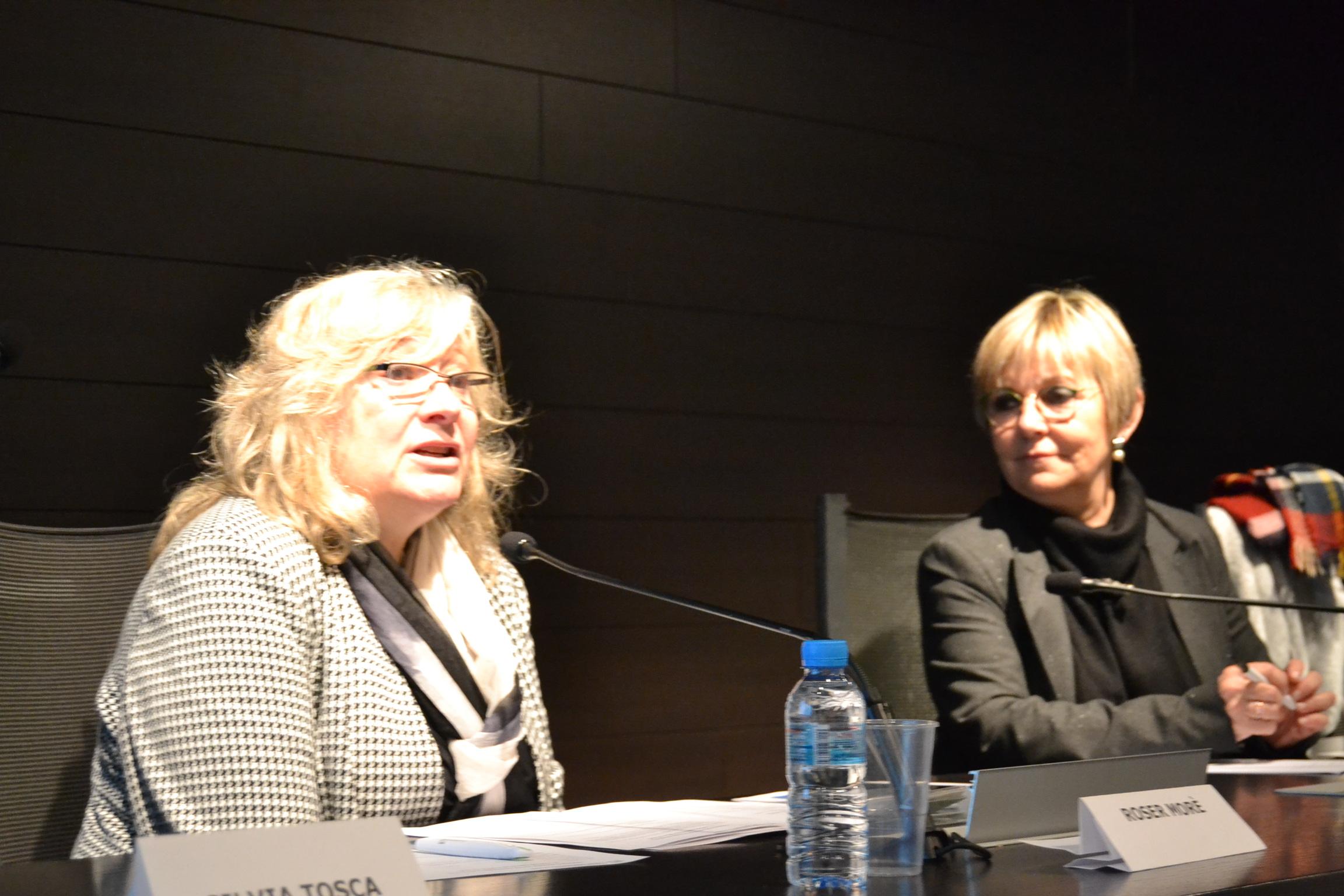Roser Moré i Carme Aragonès